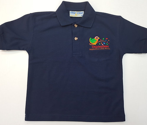 Chickadees Kids Polo Shirt
