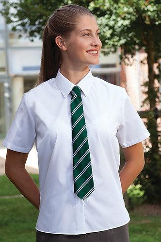 Girls Short or Long Sleeve Shirts Twin Pack