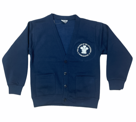 The Prince of Wales School Cardigan (Final Year)