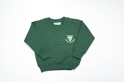 Portesham Primary V-Neck Sweatshirt