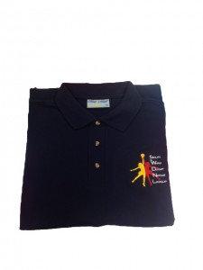 S & W Dorset Netball Polo Shirt Unisex Fit