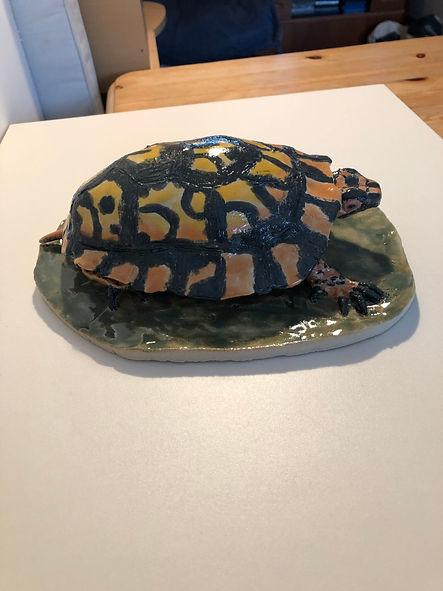 Ceramic box turtle
