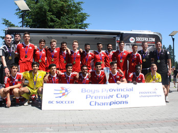 BC Soccer Provincial Premier Cup Finals Results