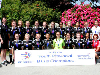 Girls U15 Heat Takes 2nd at Provincial B Cup