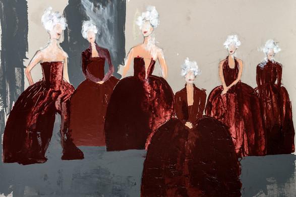 Costume Sketch Marquise de Sade