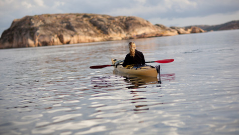 Kayaking in Bohuslän