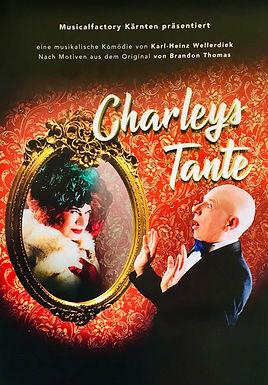 """""""Charley`s Tante"""" Musikalische Komödie; Rolle: Donna Lucia d`Alvadorez"""