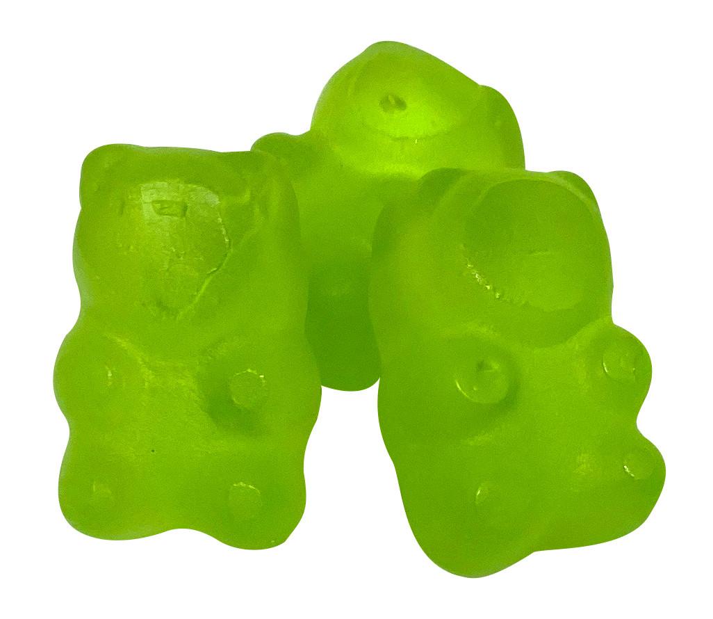 小熊造型果膠_油面果膠
