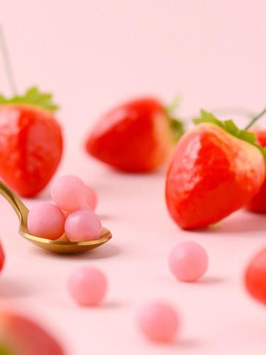 草 莓 脆 皮 軟 糖