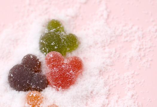 造型軟糖/糖面