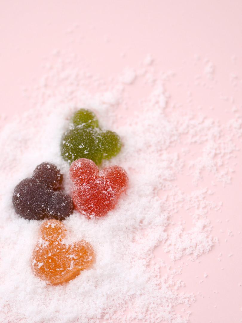 米 奇 造 型 糖 面 Q Q