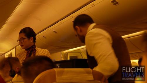 Etihad Airways Flight Review: B777-300ER flight EY470 from Abu Dhabi to Singapore