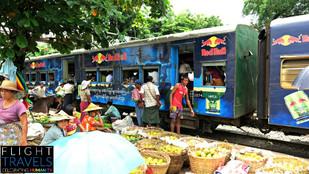 Yangon Circular Railway Journey