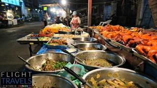 Ban Anou Night Market in Vientiane, Laos