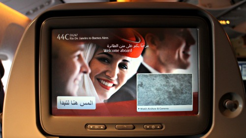 Emirates Flight Reports