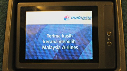 Malaysia Airlines Flight Reports