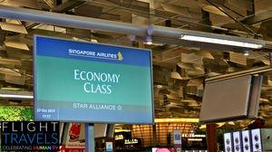 Singapore Airlines Impressive Economy Class: SQ866 Singapore ...