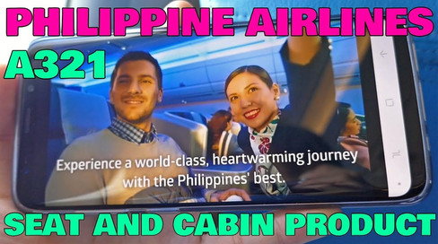Philippine Airlines   Economy Class   A321 Seat and Cabin Product