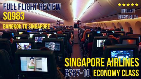 SQ983 | BKK-SIN | Economy Class