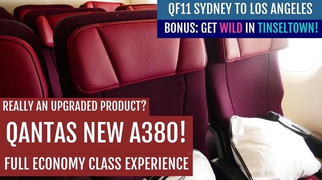 QF11 | SYD-LAX | Economy Class