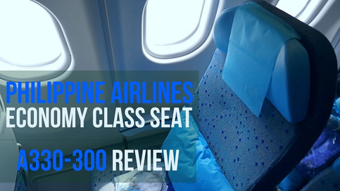 Philippine Airlines   Economy Class   A330 Seat and Cabin Product