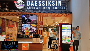 Daessiksin AMK Hub Korean BBQ Buffet ALL-YOU-CAN-EAT Korean Barbecue Grill Meats and Seafood! Review