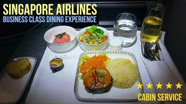 SINGAPORE AIRLINES | ECONOMY CLASS | BUSINESS DINING