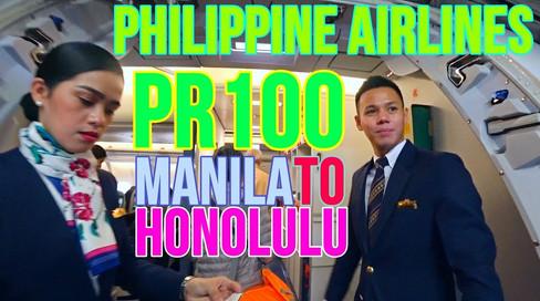 PR100   MNL-HNL   Economy Class