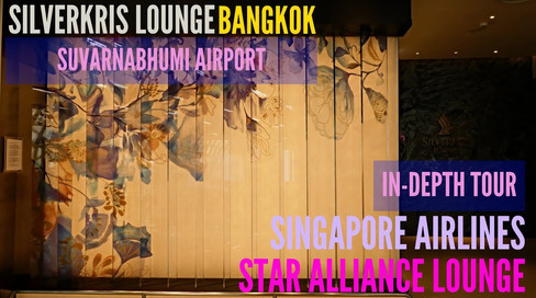 Singapore Airlines | SilverKris Lounge | BKK