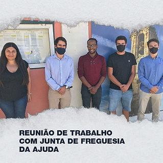 AAUL reune com Junta de Freguesia da Ajuda