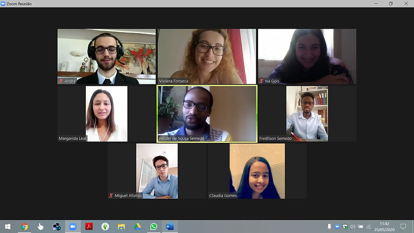Reunião com a União de Estudantes Cabo-Verdianos