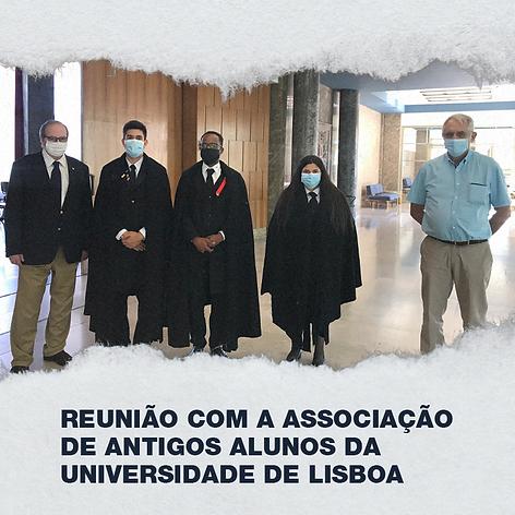 Reunião com a Associação de Antigos Alunos da Universidade de Lisboa