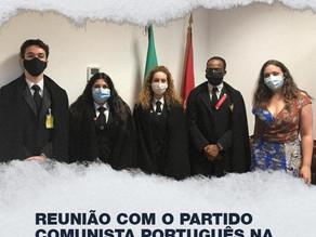 Reunião com o Partido Comunista Português