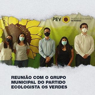 AAUL reune com Grupo Municipal do Partido Ecologista Os Verdes
