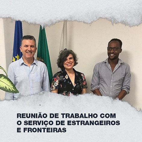 AAUL reune com Direção Regional de Lisboa para alertar o SEF