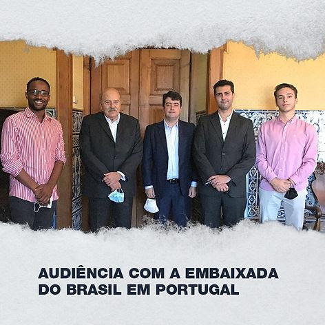 AAUL reune com Embaixadores dos países que integram a Comunidade de Países de Língua Portuguesa