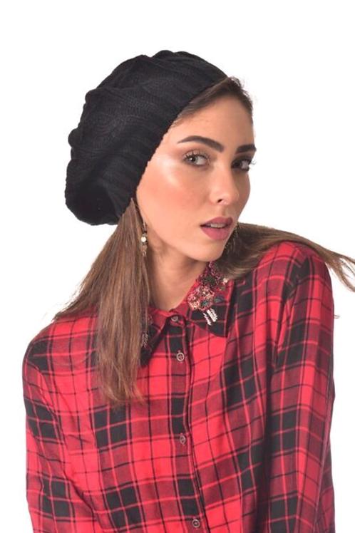 Large winter beret