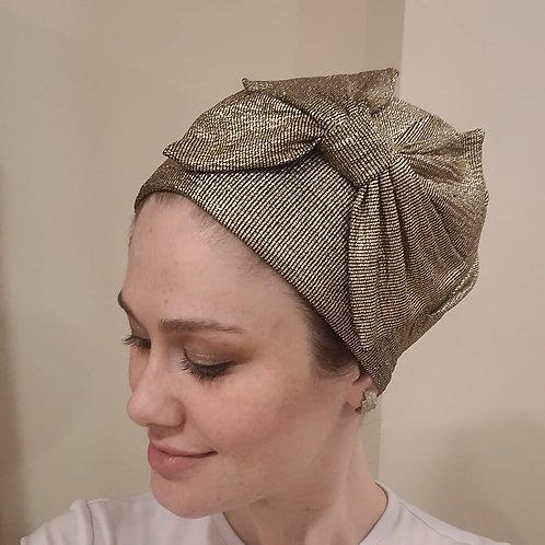 Gold Slip-on Hat