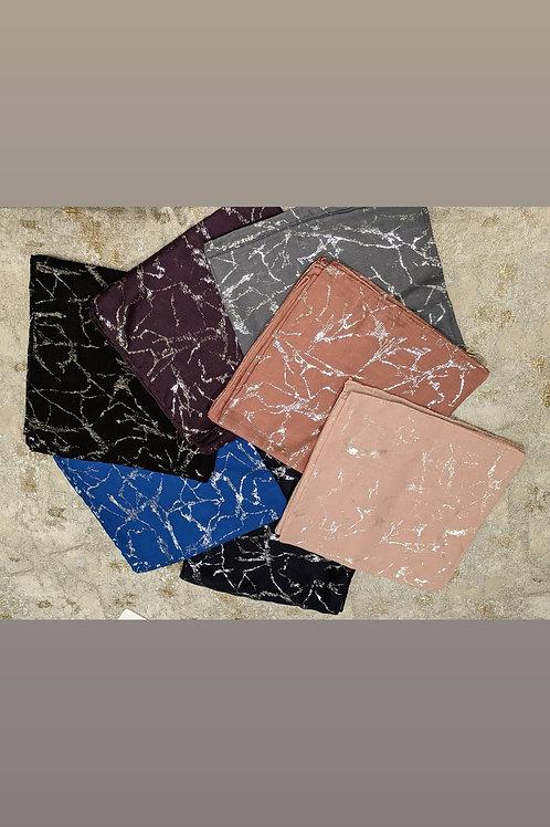 Foiled Square Tichel