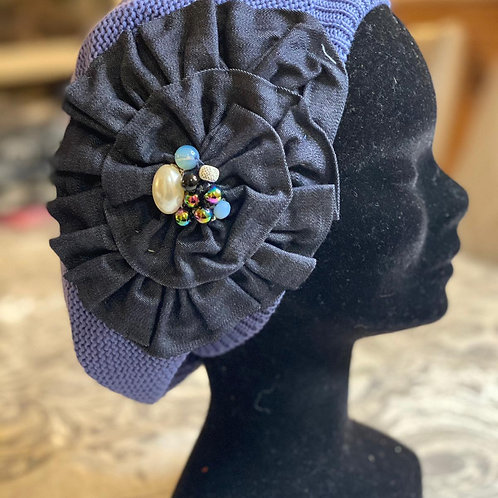 Jeans Blue French Beret
