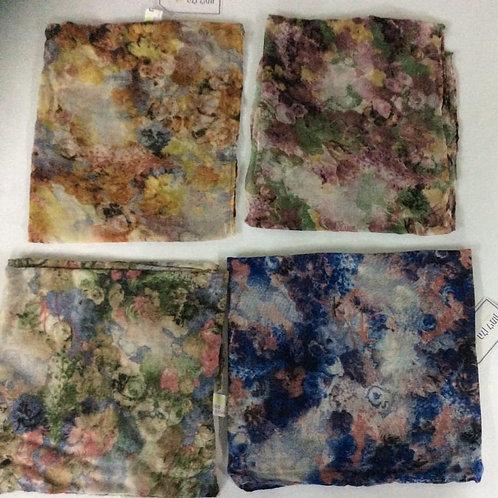 Multicolored square tichel