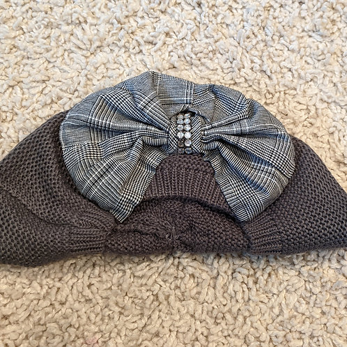 Grey French Beret