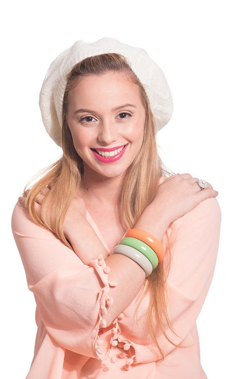 Warm cotton beret