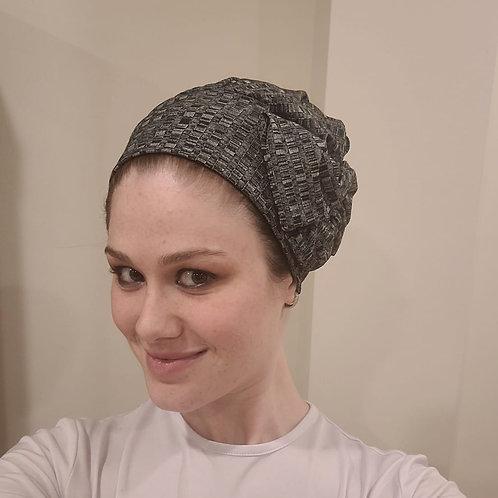 Dark Grey Slip-on Hat
