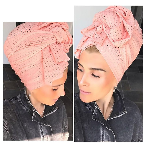 Strechy Pink Scarf