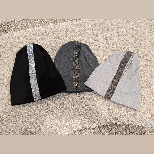 Beanie with Silver Lining