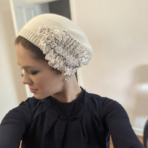 White French Beret
