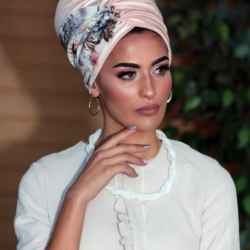 Yeela turban hat with headband