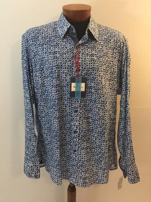 ROBERT GRAHAM Button Down Dress Shirt - Size XL