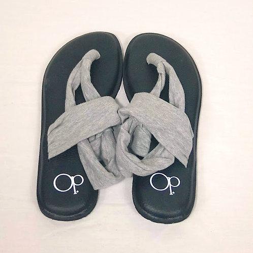 OCEAN PACIFIC Yoga Sling Sandals ~ Size 7-8M